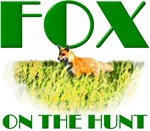 Red Fox On The Hunt