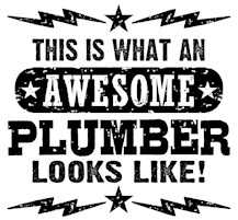 Awesome Plumber t-shirts