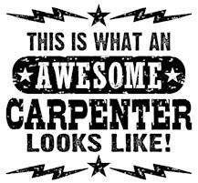 Awesome Carpenter t-shirts