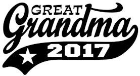 Great Grandma 2017 t-shirt