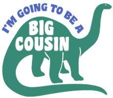 Big Cousin Dinosaur t-shirt
