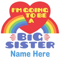 Big Sister Personalized t-shirt