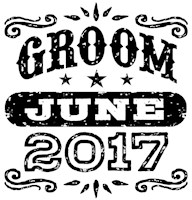 Groom June 2017 t-shirt