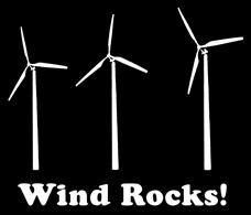 Wind Rocks t-shirts