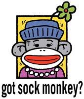 Sock Monkey t-shirts
