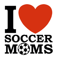 I Love Soccer Moms t-shirts