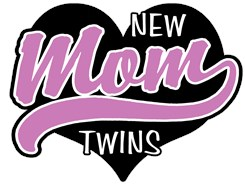 New Mom Twins t-shirt