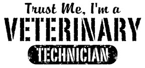 Trust Me I'm a Veterinary Technician t-shirts
