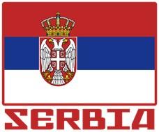Flag of Serbia t-shirt