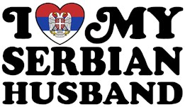 I Love My Serbian Husband t-shirt