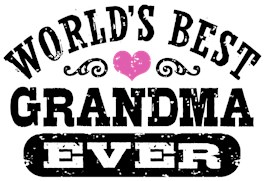World's Best Grandma Ever t-shirts