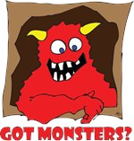 Humorous MONSTERS, BEASTS and CREATURES