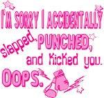 Sorry I punched you