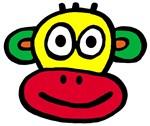 Yellow Red Monkey