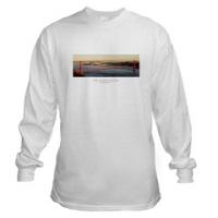 San Francico Golden Gate Sunset t-shirts + gifts