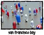 SF Bay Gifts Spinnaker Sailing T-shirts