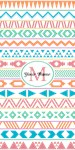 Monogrammed Tribal Pattern