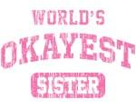 Vintage World's Okayest Sister