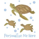 Personalized Sea Turtles