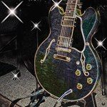Semi Glow Guitar