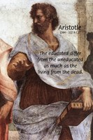Aristotle Philosophy of Education: Living and Dead