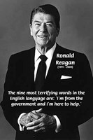 Ronald Reagan Joke: Terror of Government