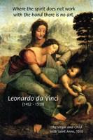 Leonardo da Vinci Art Union of Spirit and Hand