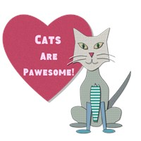 Cats Are Pawesome