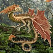 Redish Earth Leaf Dragon