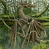 forest Wood Dragon