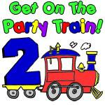 Party Train Two Year Old