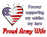 Forever supporting - Army wife
