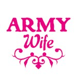 Army Wife (pink)