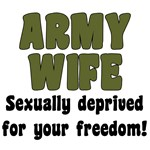 Army Wife - deprived