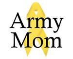 Army Mom with Ribbon Items