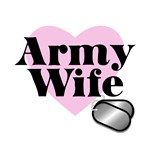Army Wife (Heart Tags)
