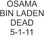 Osama Dead Black