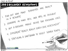12/27/2009 - 2010 eDiscovery Resolutions