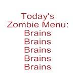 Zombie Menu