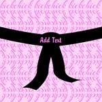 Black Belt Kick Chick pink