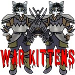 War Kittens! On T-shirts and Gifts