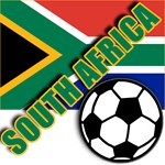 World Soccer South Africa Team T-shirts
