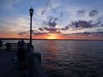 VM Titusville Pier Sunset