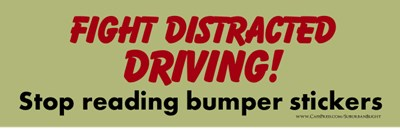 Fight Distracted Driving!