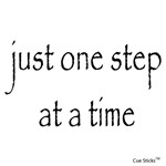 Just One Step at a Time