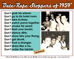 Date-Rape Stoppers of 1959, Updated