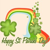 Happy St Patricks Day Rainbow T-shirts