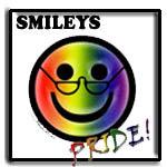 Gay pride Smileys, teen lesbian, mature lesbian