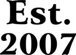 Est. 2007