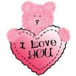 I Love You Pink Teddy Bear